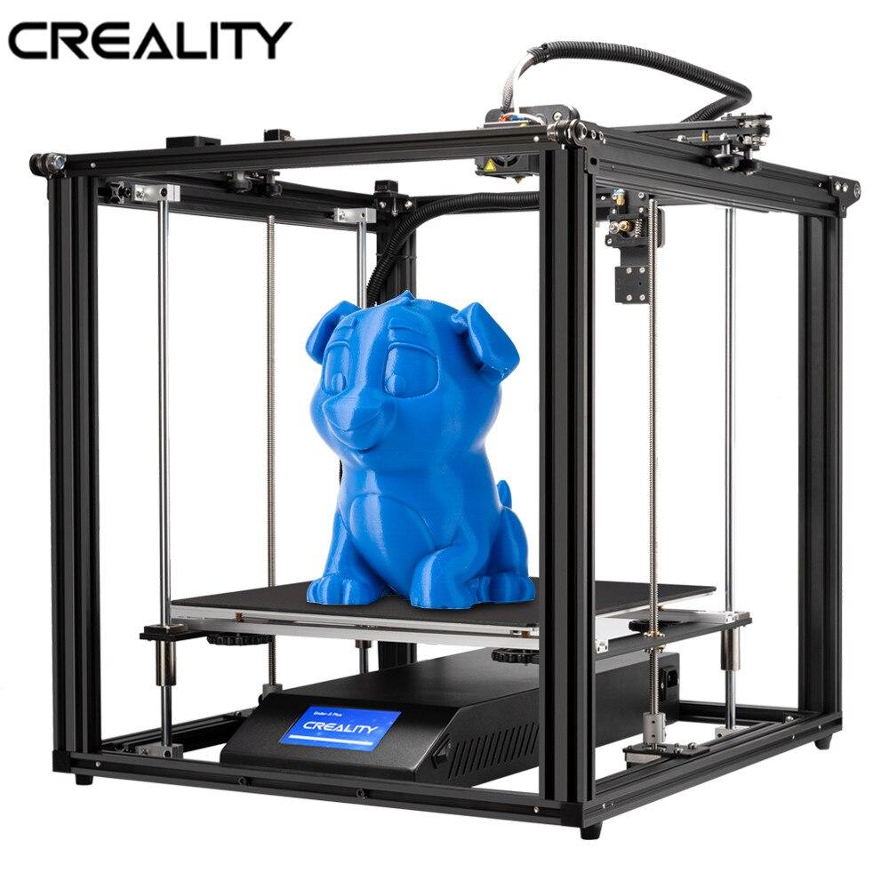 Ender-5 3D de créalité Plus imprimante 3D 350*350*400MM capteur de Filament d'impression de reprise avec le contact de BL