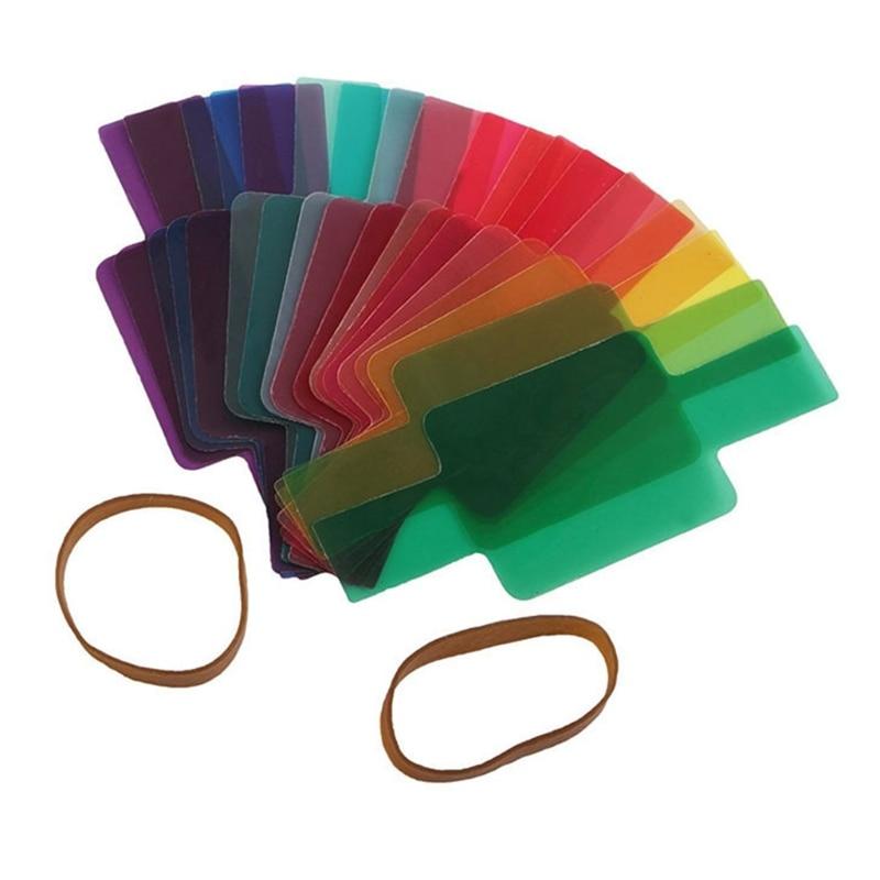 Гели для вспышки Speedlights 20 гелевых цветов универсальные световые фильтры с принтом