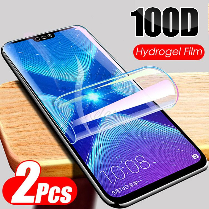 3pcs 100D Full Cover Hydrogel Film For Huawei Honor 8x 8c 8s 8a 8 X C S Soft Screen Protector Film For Honor X8 C S A Not Glass