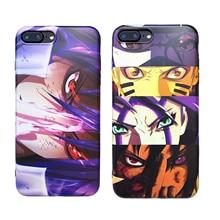 Luxury Cartoon Naruto Phone Case for iPhone 6 6s 7 8 Plus X XS XR XSMax Soft TPU Cover