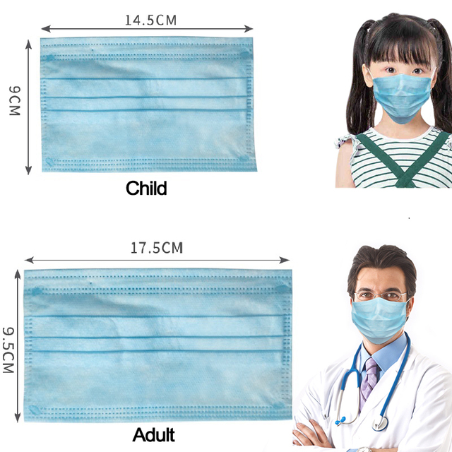 100pcs KN95 Mask 5 Layers Dust Flu Anti Infection N95 Masks Particulate Respirator ffp2 Protective Safety Same As KF94 FFP3 FLU 2