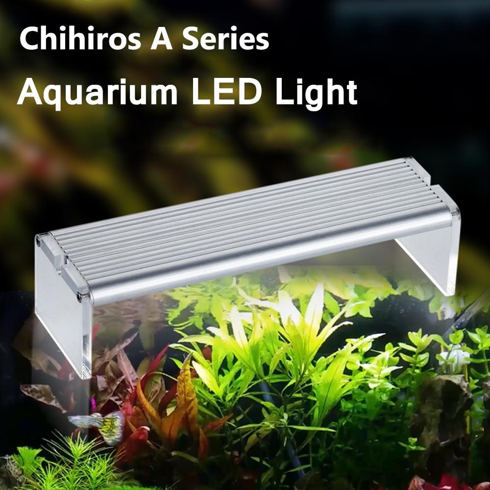 Chihiros A-Series Aquarum Led Light Plant Grow Lighting 110~240V 5730 SMD Fish Tank Metal Bracket Sunrise Sunset Lighting Contro