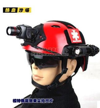 Quick Helmet Rapid Response Helmet Rescue Helmet PJ Red Helmet