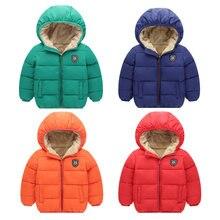 2020 пальто парка для маленьких девочек и мальчиков детская