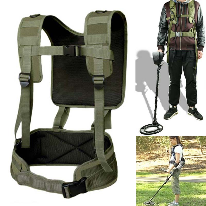 Universal Metal Detector Generic Detecting Harness Sling For Detector Pro Swing With Girdle OD889
