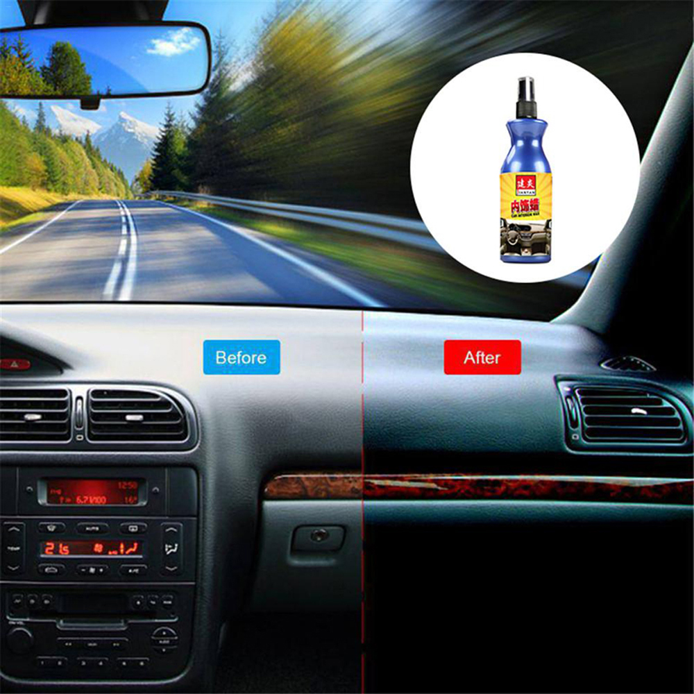 100ml <font><b>Car</b></font> Polish Plastic Automotive Cleaner Wax Household Agent