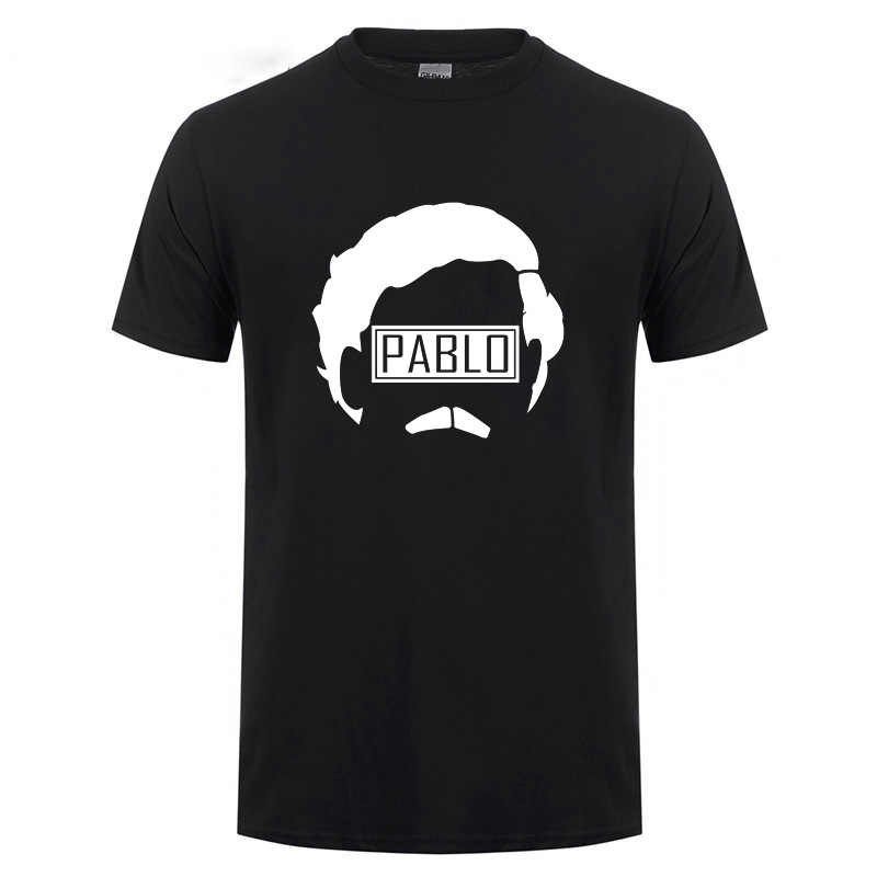 King Of Coke Kokain Medellin Pablo Escobar футболка для мужчин с вырезом лодочкой хип-хоп Топ Футболка с изображением сорняков мафии и мордочки Лучано капона футболка