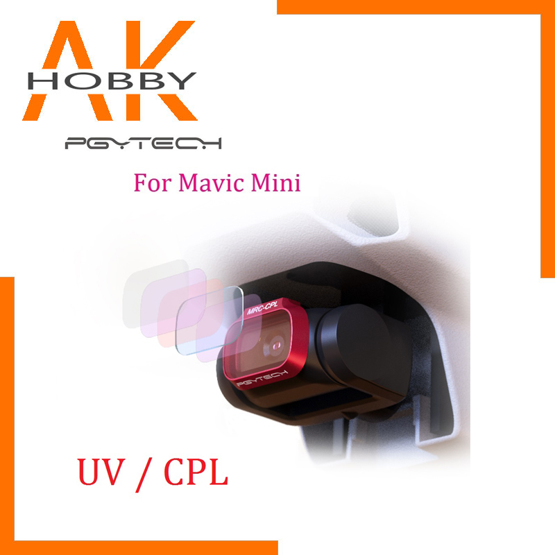 PGYTECH UV CPL Camera Lens Filter Professional Version For DJI Mavic Mini Drone Accessories