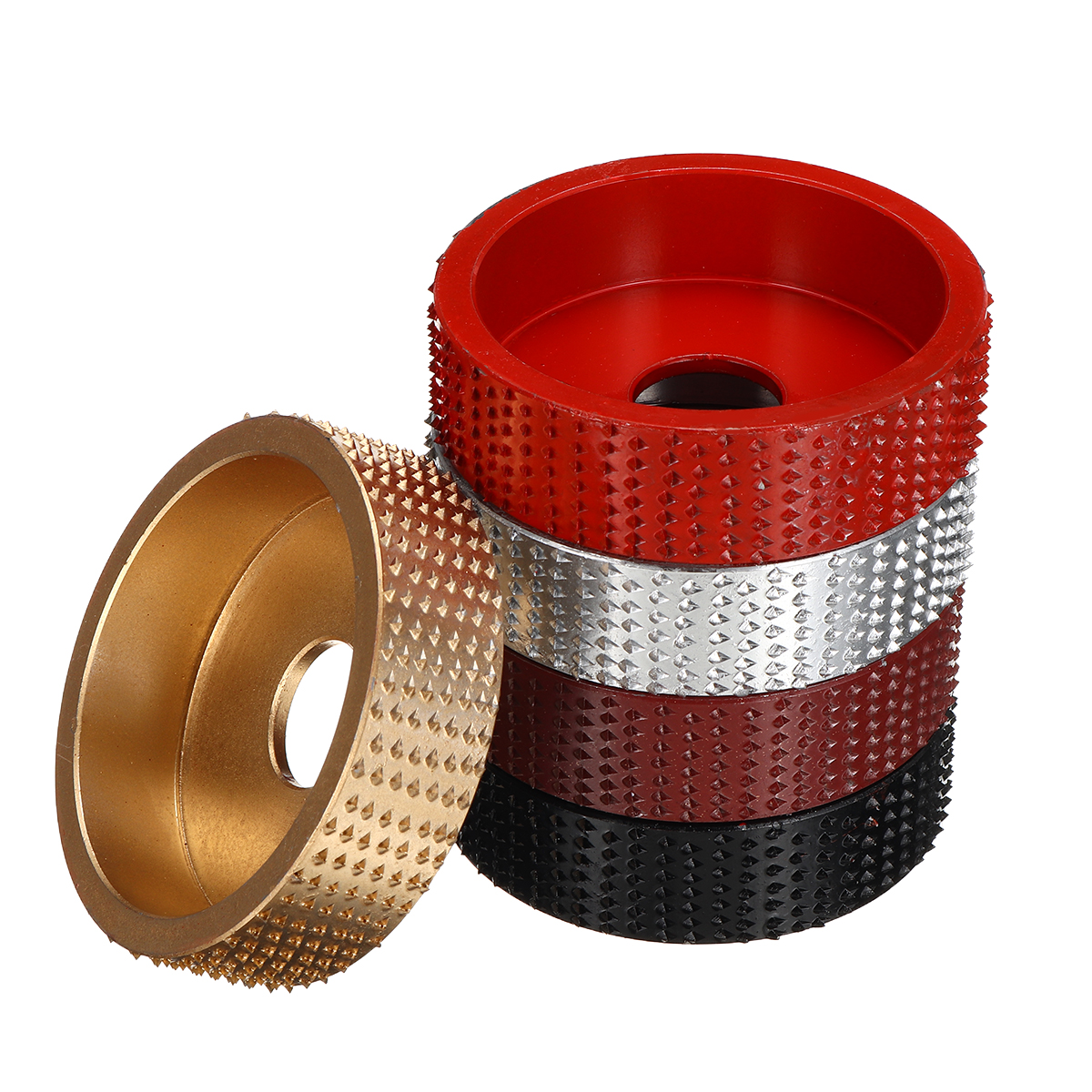 Wood Angle Grinding Wheel Sanding Carving Rotary Tool Abrasive Disc Angle Grinder Tungsten Carbide Coating Bore Shaping