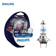Philips 12972RVS2 2 PCs Halogen lamp H7 12V 55W PX26d 5000K White cold. light-голуб. оттен. Diamond Vision car headlight