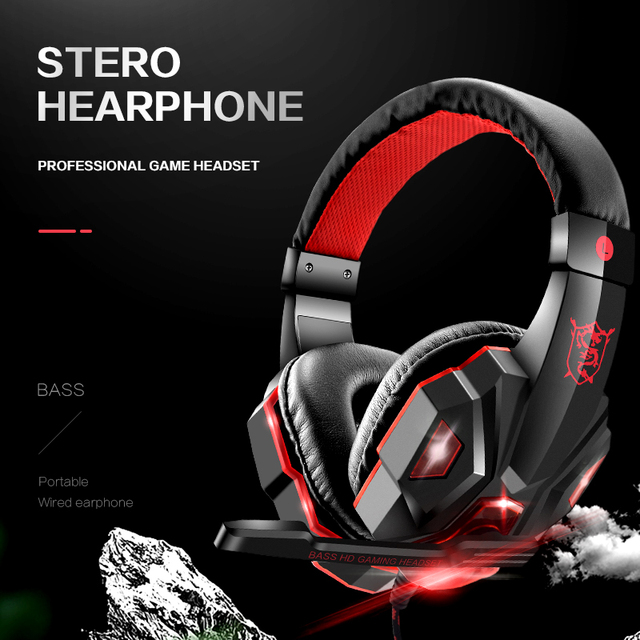 DATA FROG Wired Gaming Earphones for Mobile phone Headphones Mic Stereo Supper Bass for Sony PlayStation 4 PS4 Earphone 3
