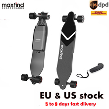 Maxfind Skateboard Longboard Waterproof Electric Scooter 25km/h Dual Motor Remote Bluetooth Max4 Electric Skateboard for Adult