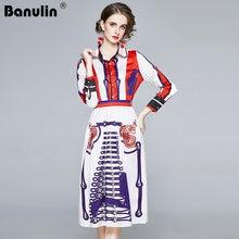Banulin осень 2020 подиумный дизайнерский винтажный топ с длинными