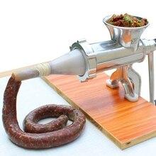 Maszynka do mielenia mięsa makaron ze stopu aluminium szlifierka naczynia ręczne gadżety Mincer urządzenie do produkcji makaronu mięso kromka z