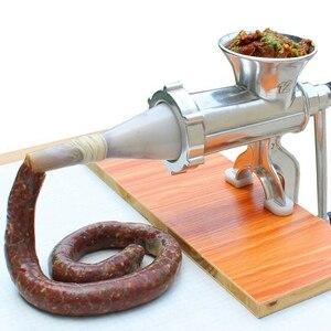 Image 1 - Picadora de carne de aleación de aluminio, máquina de molienda de fideos, utensilios de mano, máquina para hacer Pasta, rebanada de carne con
