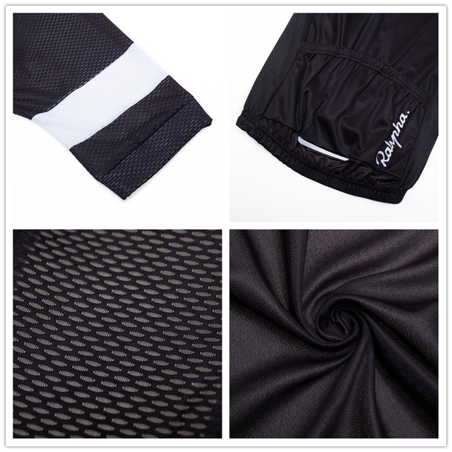 Pro raphaful ciclismo jérsei manga curta kit de roupas bicicleta mtb wear triathlon uniforme maillot raiders jérsei 4