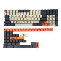 IDOBAO carbon 64 84 96 MINILA персональный keycap топ печать толстый PBT файл конфигурации keycap для MX механическая клавиатура