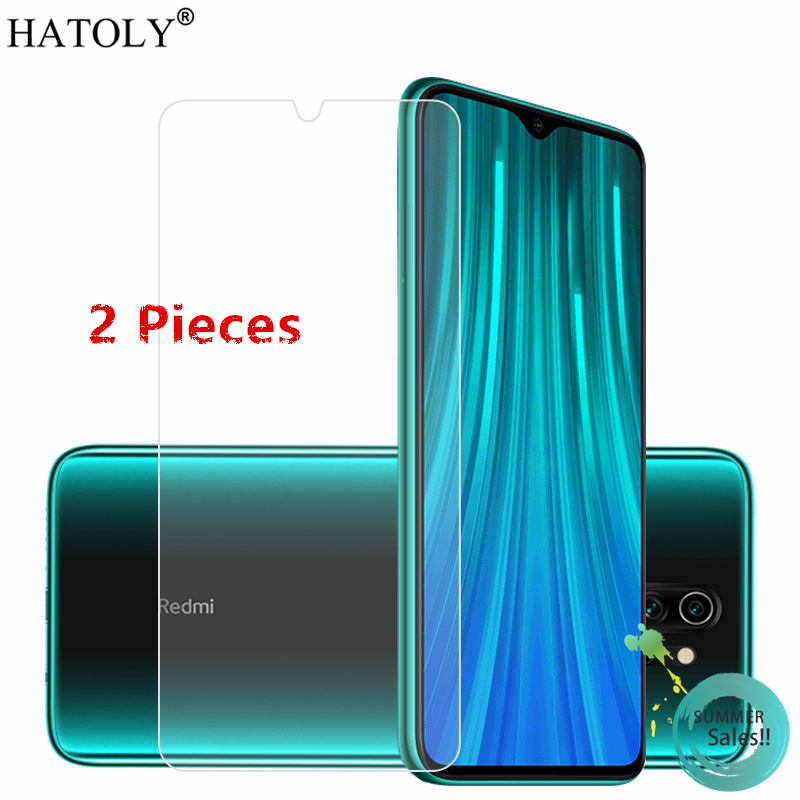 2PCS For Xiaomi Redmi Note 8 Pro Glass For Xiaomi Redmi Note 7 8T Tempered Glass Screen Protector Glass For Xiaomi Redmi Note 8T
