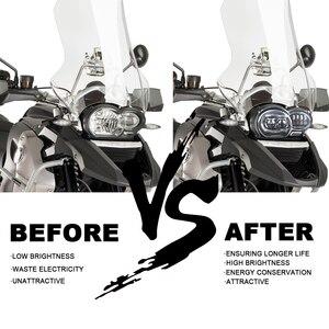 Image 4 - Bmw R1200GS R 1200 GS ADV R1200GS LC 2004 2012 フィットオイルクーラーモーターバイク 2018 LED ヘッドライト