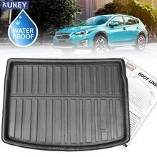 For Subaru Crosstrek XV Impreza Hatch 2017   2019 2020 Car Rear Boot Liner Trunk Cargo Mat Tray Floor Carpet Mud Pad Protector