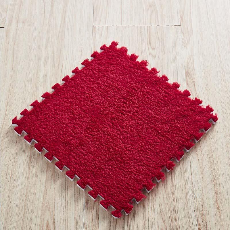 10/20PCS 30*30cm Carpet Living Room Bedroom Children Kids Soft Magic Patchwork Jigsaw Splice Heads Climbing Baby Crawing Mat 23