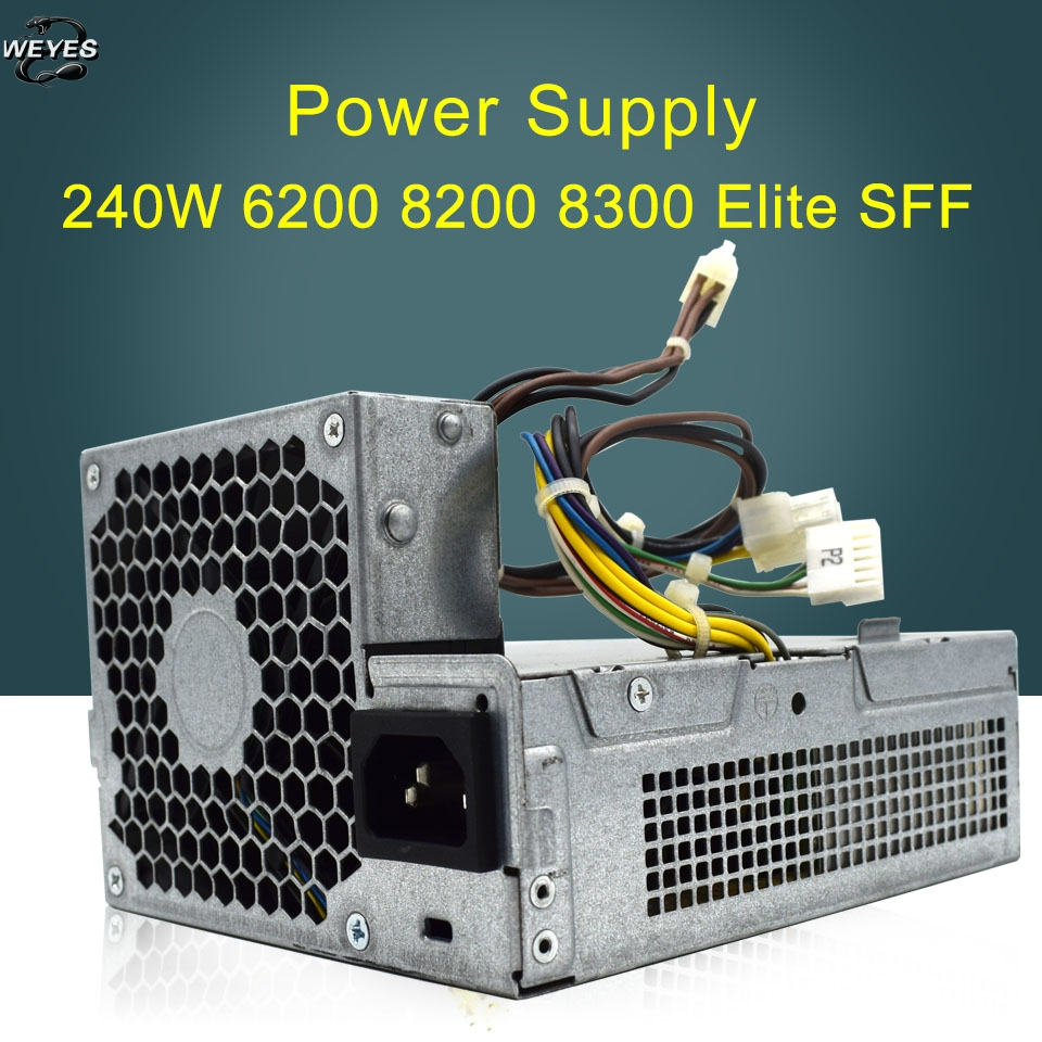 HP Compaq 6000 Pro 8200 Elite SFF 12VDC 240W Power Supply 611481-001 613762-001
