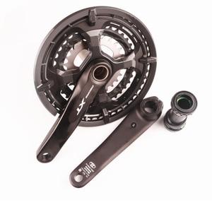 Image 2 - Shimano manivela de velocidad DEORE XT T8000 3x10, conjunto de manivela de velocidad para bicicleta de montaña, HOLLOWTECH II 170 48 36 26T, 30 manivela de velocidad con piezas para bicicleta MT800
