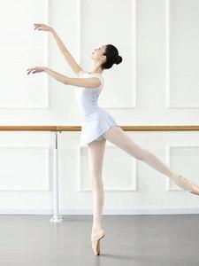 Image 4 - Mono de LICRA sin mangas para mujer, leotardos para Ballet latino, para adulto