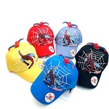5 styl Spiderma młodzieży kreskówka młodzieży regulowany Hip Pop kapelusz czapka niebieski dla chłopców Sonic gorąca sprzedaży na imprezę Cosplay prezenty zabawki tanie tanio Disney Model CN (pochodzenie) Unisex 52-54cm SPIDERMAN PIERWSZA EDYCJA Peryferyjne Zachodnia animacja Produkty na stanie