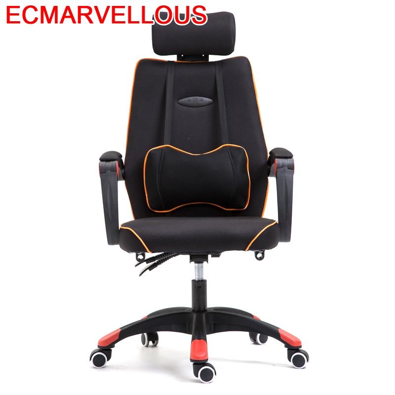 Y De Ordenador Sandalyeler Bureau Sessel Sedia Stoelen Boss T Shirt Ergonomic Computer Poltrona Silla Cadeira Gaming Chair
