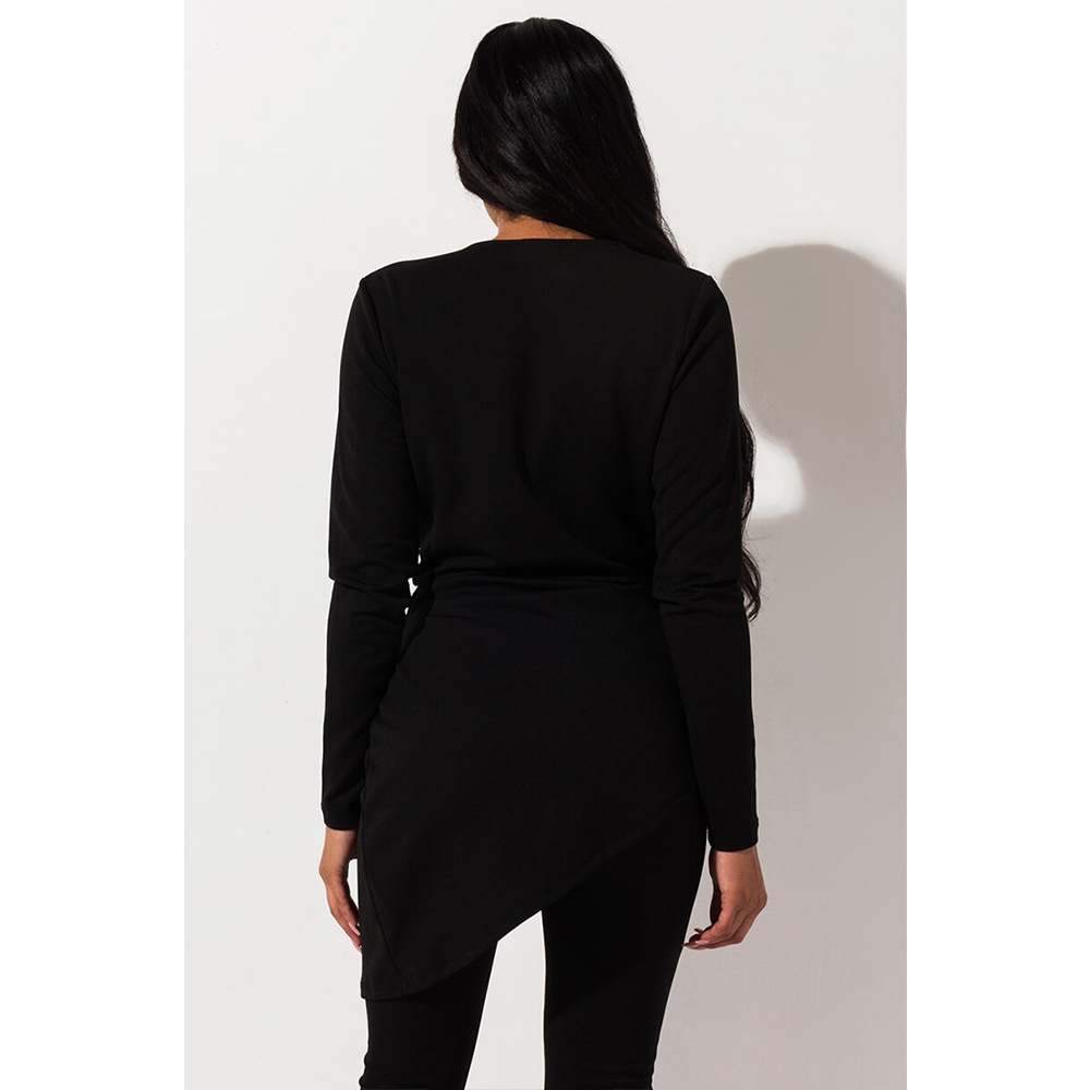 Echoine Long SLeeve Blazer Suit Set Two Piece Set ELegant Ruffle V-neck OL Work Office Matching Set Business Sexy Clothes