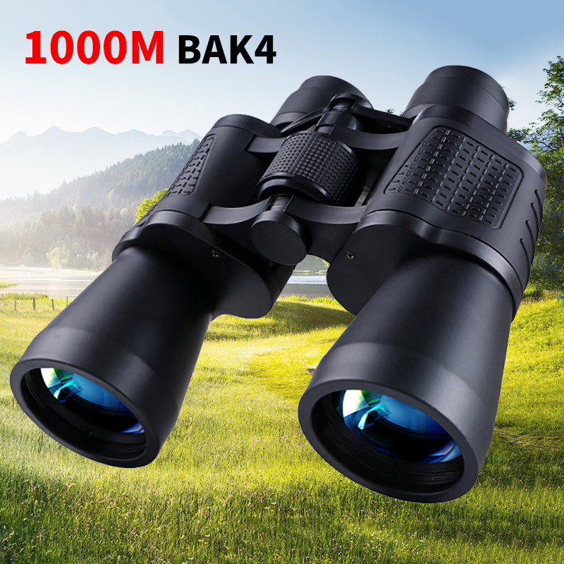 10x50 Telescopes Comet Binoculars Compact Lightweight Wild Field View BAK4 Prism Low-Light Vision for Wildlife Watching X516B