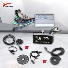 Js 500W 350W Elektrische Fiets Controller 36V Led Display Pas Snelheid Sensor Waterdichte Kabel Elektrische Fiets Onderdelen ebike Kit