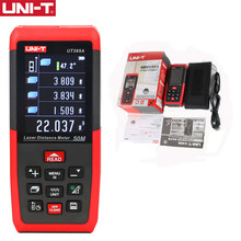 UNI-T medidor de distância a laser usb ut395a ut395b ut395c 100m 50m 70m rangefinder trena a laser fita profisional medida digital