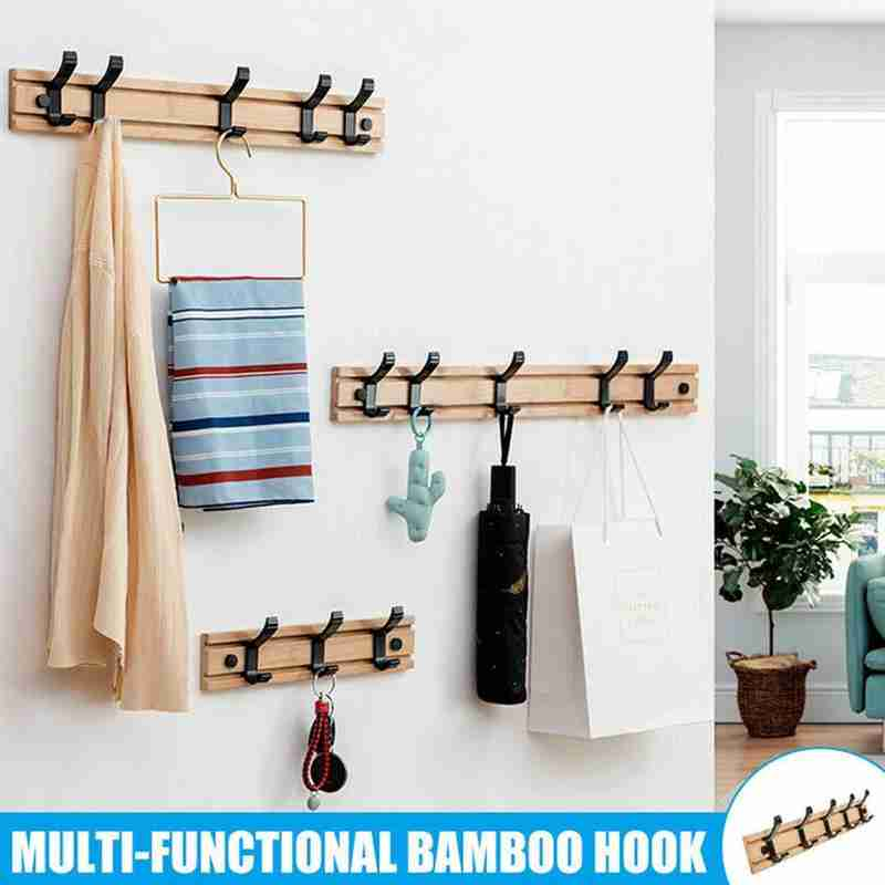 Nordic Fashion Decor Punch-free Hook Coat Rack Hanger Hook Bedroom Hat Clothes Rack Hanger Kitchen Toilet Wall Hook