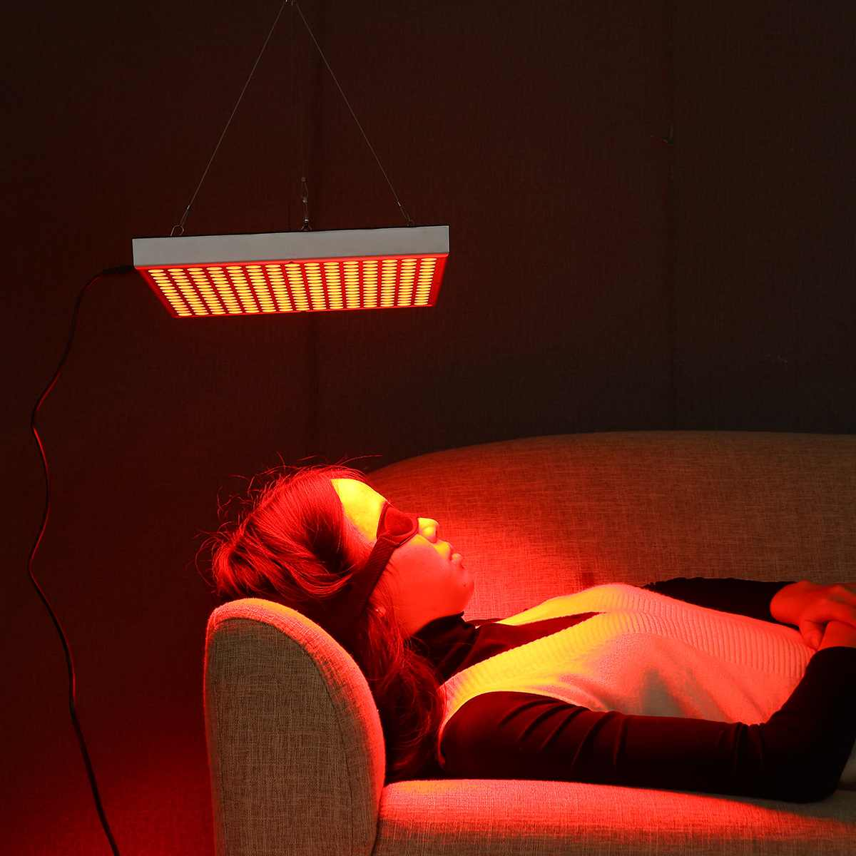 Red Led Light Therapy Deep Red 660nm 225LED Near Infrared Skin Rejuvenation Wrinkle Removal Light Panel For Skin Pain