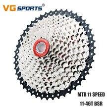 VG Sports MTB Bicycle Cassette 11 Speed 11-46T Freewheel for Shimano Sram Sprocket Fixie cdg 11 Velocidade 11-46T Flywheel цена
