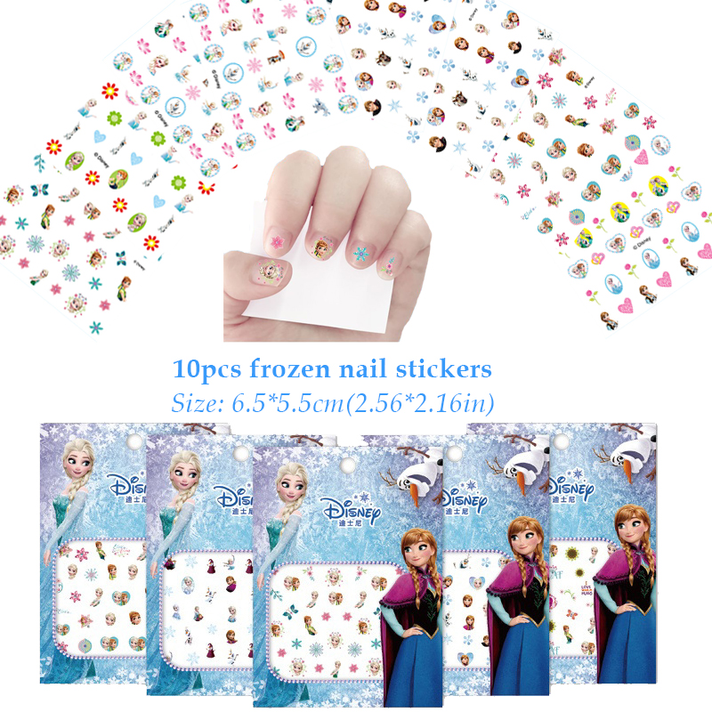 Image 5 - 60pcs Frozen Party Favors For Kids Birthday With Frozen Love Bracelet/Rings 3D Disney Bubble Stickers Baby Shower Gifts Bags Christmas-in Party Favors from Home & Garden