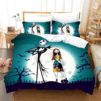 The Nightmare Before Christmas 3D Pumpkin Beauty Bedding Set Printed Cartoon Duvet Cover Set Queen King Twin Dropshipping Custom twin set simona barbieri beauty case