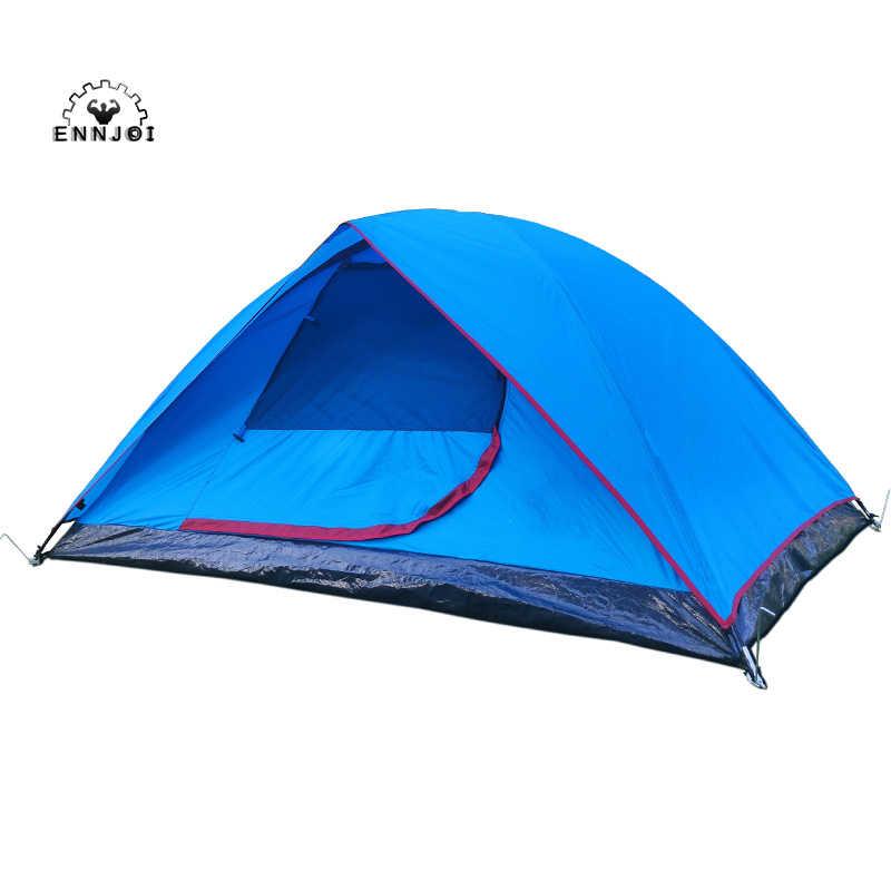 2 Orang Tahan Air Tahan Angin 190t Pu Camping Tenda Double Layer Outdoor Hiking Backpacking Ultralight Keluarga Berkemah Tenda Tent Double Family Camping Tentcamping Tent Aliexpress