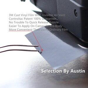 Image 2 - Skórka kalkomania obiektywu dla Sony FE 70 200 200 600 100 400 Sigma Skin naklejka Protector Anti scratch Coat pokrowiec owijający naklejka