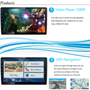 Image 5 - רכב רדיו אנדרואיד מולטימדיה נגן לפיג ו 508 2011 ~ 2016 רכב מסך מגע GPS ניווט תמיכה Carplay Bluetooth