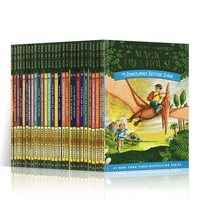 28 Hardcover Books / Set Magic Tree House English Reading Story Book 3 10 Years Old Color Picture Book Children's Chapter Book