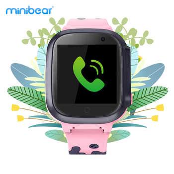 Kinder Smart Uhr GPS LBS WiFi Lage Tracker IP67 Wasserdicht SOS Anti-verloren 2G kinder Smartwatch für Geburtstag geschenk Minibear