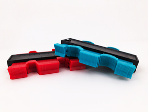 Image 3 - Calibro Contorno Profilo Copia Duplicatore Calibro di Plastica Standard di 5 Larghezza Legno Marcatura Strumento di Piastrelle Laminato Piastrelle Generale Strumenti di Nastro