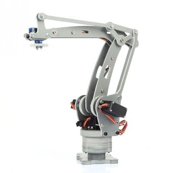 4-DOF ABB Industrial Robot Model and Stacking Manipulator with High-Quality Joint Bearings