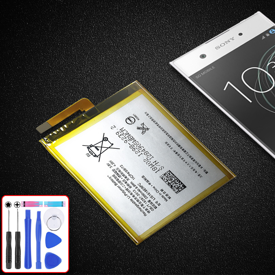 Original Replacement <font><b>Battery</b></font> For SONY <font><b>Xperia</b></font> E5 <font><b>Xperia</b></font> <font><b>XA</b></font> F3113 F3112 F3116 F3115 F3311 F3313 LIS1618ERPC 2300mAh image