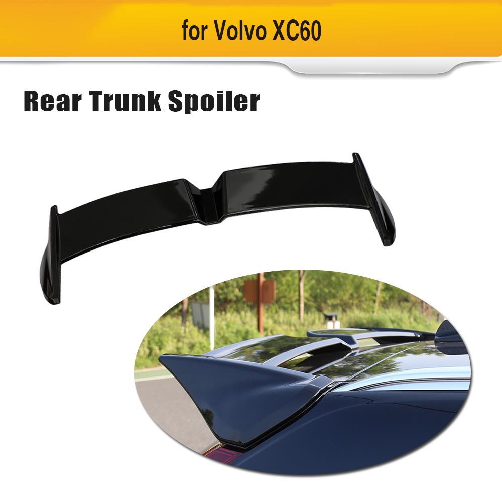 RDX Racedesign RDHL110 Trunk Spoiler Lip Volvo S80 Black 2005-2010 ABS AS