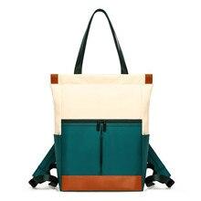 Nylon Waterproof Laptop Backpack Women Large Capacity Ladies Hand Double Shoulder Bags Female Bagpack Satchel Travel Bolsa