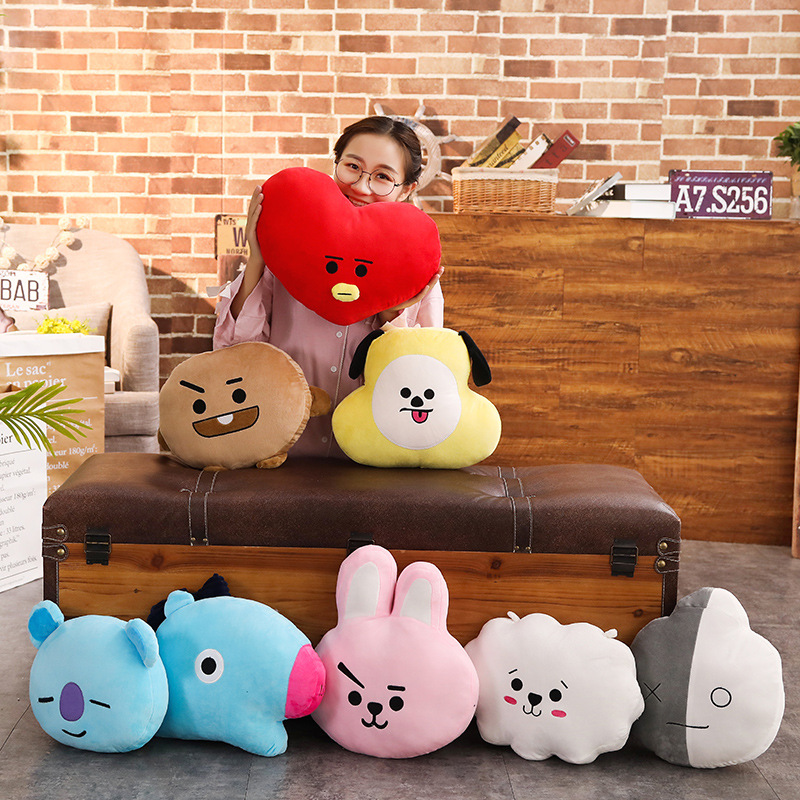 Expression Plush Toy Stuffed Toy Doll And Pac Man Koala Plush Smiling Face Plush Toys Baby  Gifts
